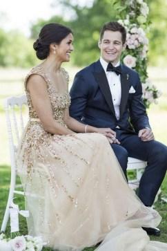 80 Inspiring Beautiful Sequin Bridal Gown 48