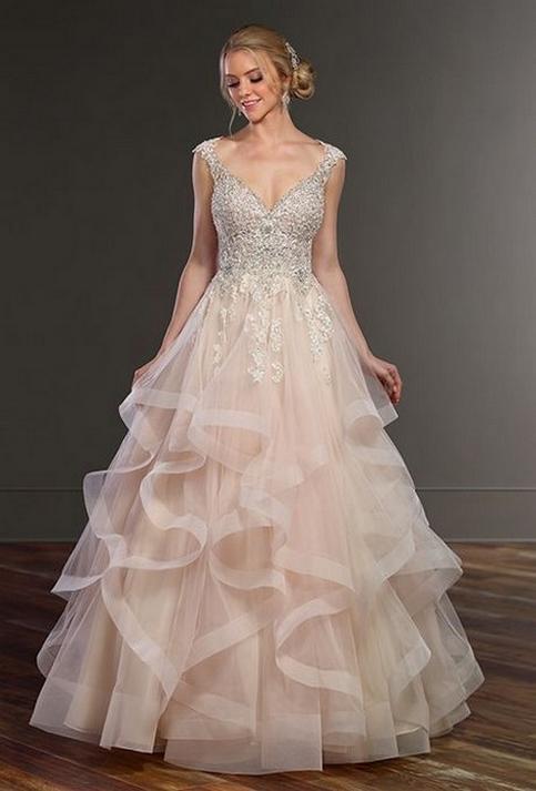 80 Inspiring Beautiful Sequin Bridal Gown 51