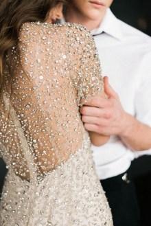 80 Inspiring Beautiful Sequin Bridal Gown 60