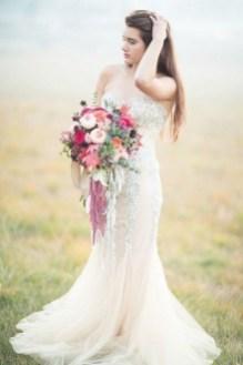 80 Inspiring Beautiful Sequin Bridal Gown 63