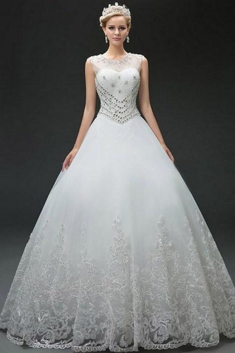80 Inspiring Beautiful Sequin Bridal Gown 65