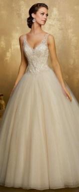 80 Inspiring Beautiful Sequin Bridal Gown 81