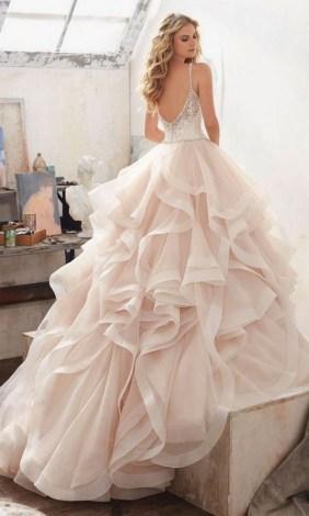 80 Inspiring Beautiful Sequin Bridal Gown 84
