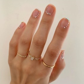 80 The Most Elegant Wedding Nail Art 26