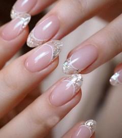 80 The Most Elegant Wedding Nail Art 33