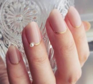 80 The Most Elegant Wedding Nail Art 6