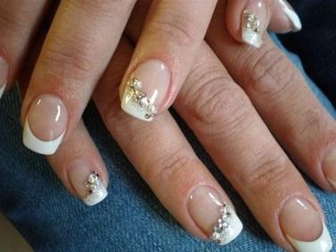 80 The Most Elegant Wedding Nail Art 68