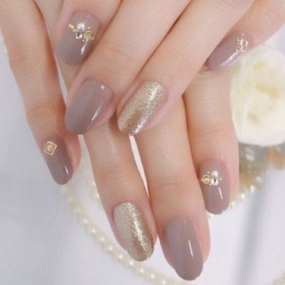 80 The Most Elegant Wedding Nail Art 84