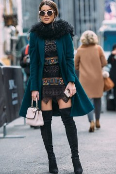 80 Thigh High Boots Outfit Street Style Ideas 09