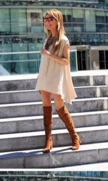 80 Thigh High Boots Outfit Street Style Ideas 66