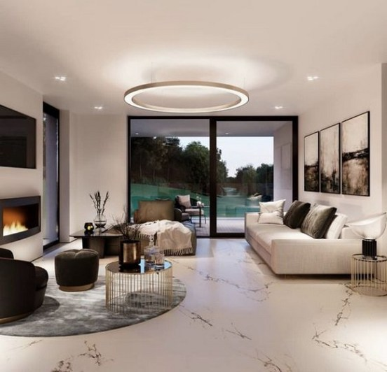 40 Comfy and Luxurious Living Room You Need to See 14