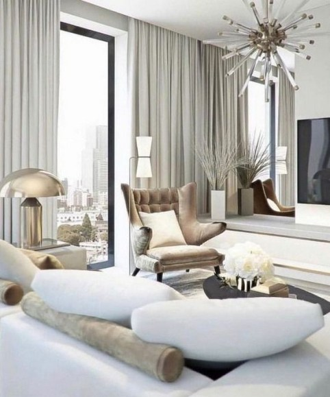 40 Comfy and Luxurious Living Room You Need to See 40