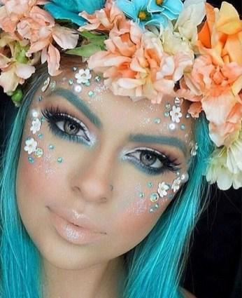 40 Fairy Fantasy Makeup for Halloween Party Ideas 02