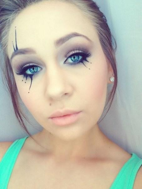 40 Fairy Fantasy Makeup for Halloween Party Ideas 03