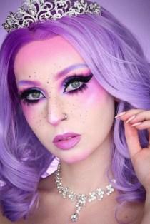 40 Fairy Fantasy Makeup for Halloween Party Ideas 05