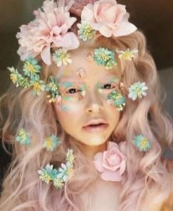 40 Fairy Fantasy Makeup for Halloween Party Ideas 18