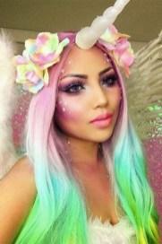 40 Fairy Fantasy Makeup for Halloween Party Ideas 24