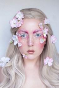 40 Fairy Fantasy Makeup for Halloween Party Ideas 37