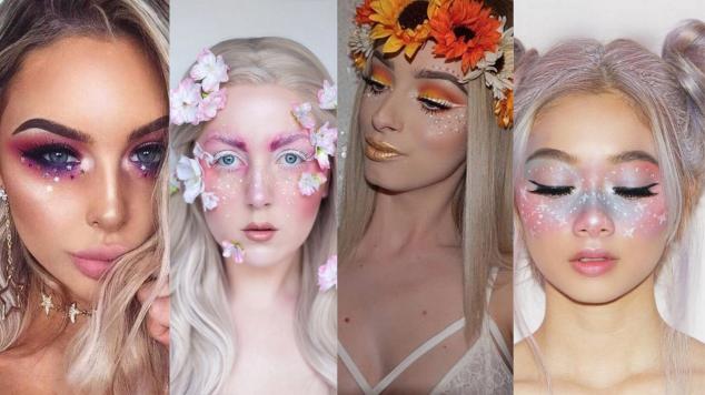40 Fairy Fantasy Makeup for Halloween Party Ideas