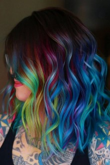 40 Fantastic Hair Color Combinations You Need To See 04