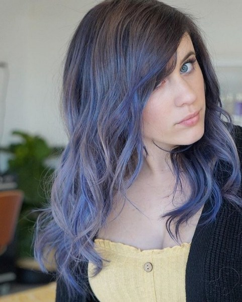 40 Fantastic Hair Color Combinations You Need To See 19