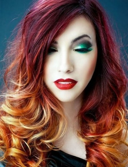 40 Fantastic Hair Color Combinations You Need To See 44