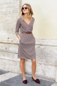 50 Dresses with Belt Styles Ideas 40
