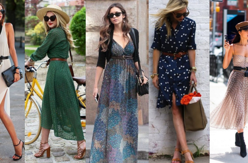 50 Dresses with Belt Styles Ideas