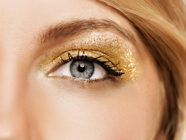 50 Shimmering Eye Makeup for Party Ideas 47