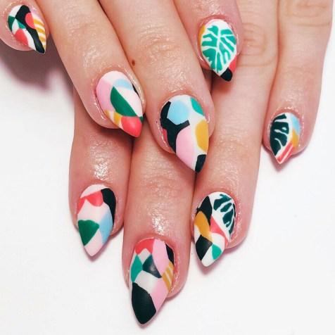 53 Ideas Fresh New Look Tropical Nail Designs 01