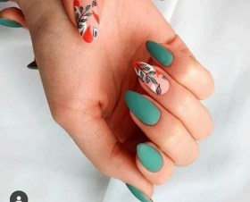 53 Ideas Fresh New Look Tropical Nail Designs 10