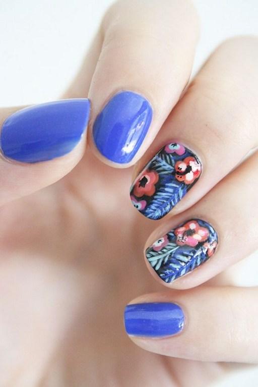 53 Ideas Fresh New Look Tropical Nail Designs 11