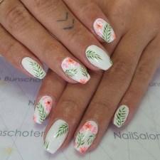 53 Ideas Fresh New Look Tropical Nail Designs 23