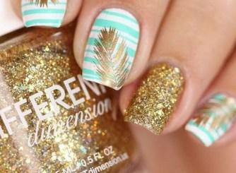 53 Ideas Fresh New Look Tropical Nail Designs 30