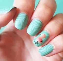 53 Ideas Fresh New Look Tropical Nail Designs 33