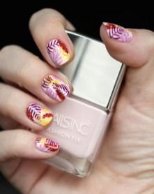 53 Ideas Fresh New Look Tropical Nail Designs 37