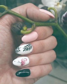 53 Ideas Fresh New Look Tropical Nail Designs 45