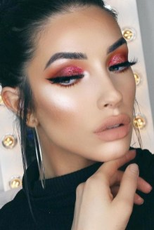 60 Lovely Makeup For Valentines Day Look Ideas 10