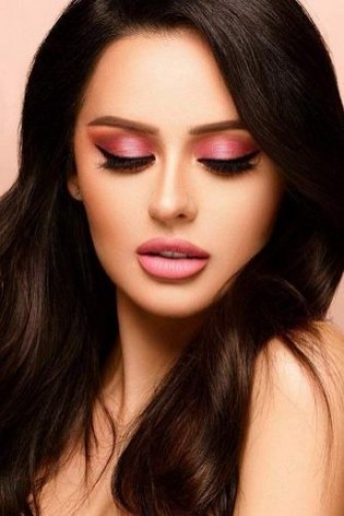 60 Lovely Makeup For Valentines Day Look Ideas 23