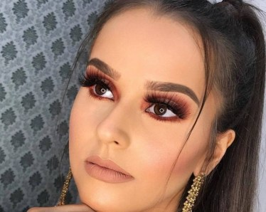 60 Lovely Makeup For Valentines Day Look Ideas 45