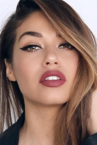 60 Lovely Makeup For Valentines Day Look Ideas 49
