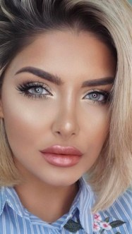 60 Lovely Makeup For Valentines Day Look Ideas 52