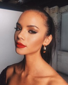 60 Lovely Makeup For Valentines Day Look Ideas 54