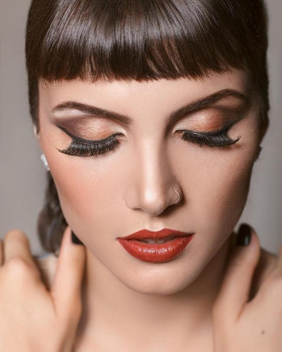 60 Lovely Makeup For Valentines Day Look Ideas 56