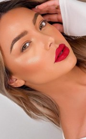 60 Lovely Makeup For Valentines Day Look Ideas 57