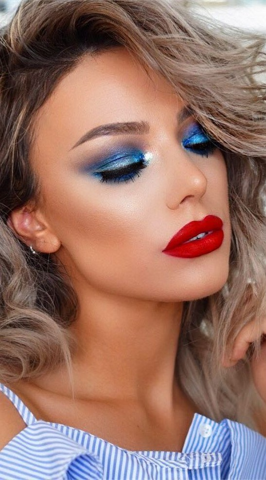 60 Lovely Makeup For Valentines Day Look Ideas 59
