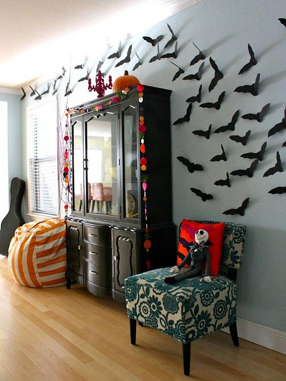 60 Nice Home Decor to Make Your House Stand Out This Halloween 04