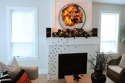 60 Nice Home Decor to Make Your House Stand Out This Halloween 24