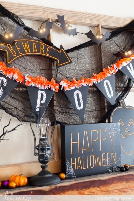 60 Nice Home Decor to Make Your House Stand Out This Halloween 52
