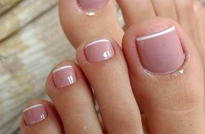 50 Ideas lovely Pink Toe Nail Art for Valentines Day 53